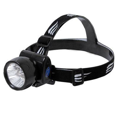 Lanterna de Cabeça NTK Recarregável de Plástico, com LEDs Super Brilhantes e Foco com Ajuste Fenix
