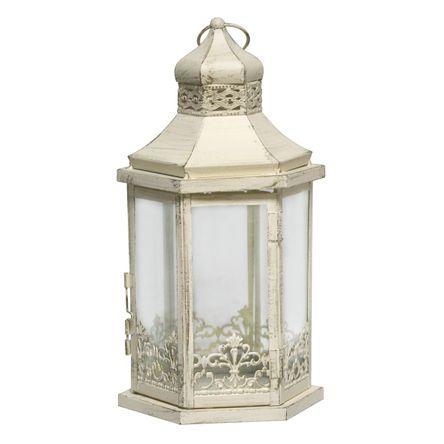 Tudo sobre 'Lanterna Decorativa - 34cm - Branca'