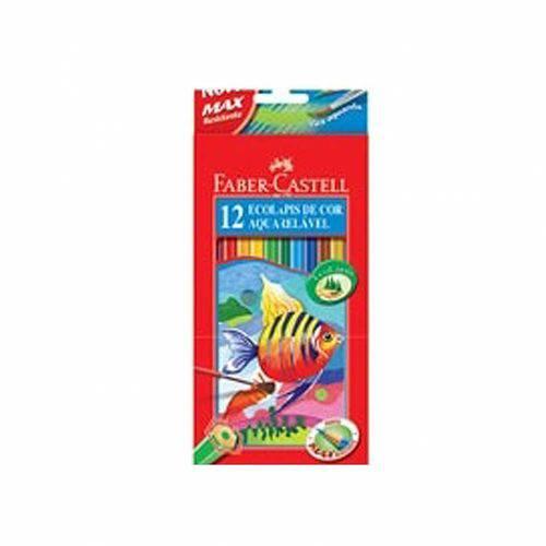 Lápis Aquarelável 12 Cores Faber-castell