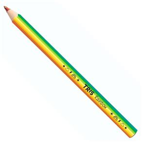 Tudo sobre 'Lápis de Cor Jumbo Tris Rainbow Multicor'