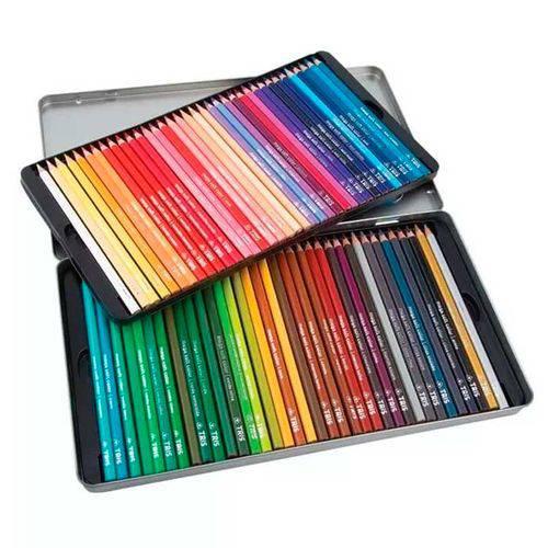 Lápis de Cor Mega Soft Color 72 Cores 687247 - Tris