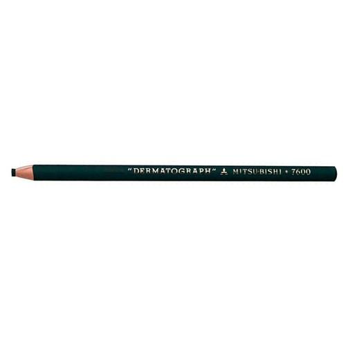 Lápis Dermatográfico 7600 Verde Mitsu-Bishi