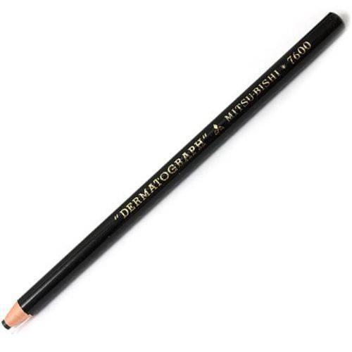 Lápis Dermatográfico Mitsu-Bishi - Preto