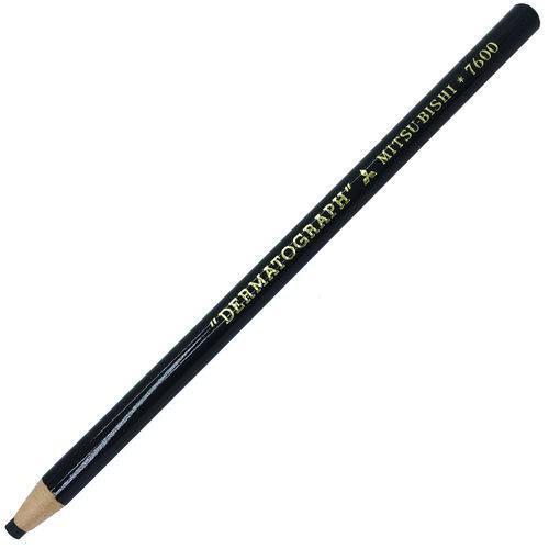 Lápis Dermatográfico Preto Nº 7600 - Mitsu-bishi