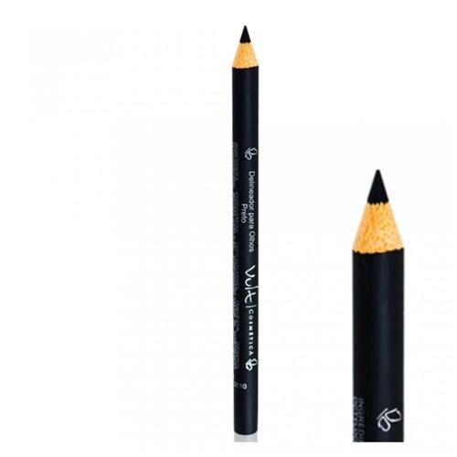 Lápis para Olhos Vult Make Up Madeira Preto