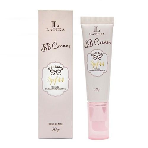 Latika Bb Cream Clareador Bege Claro Fps 44 30G