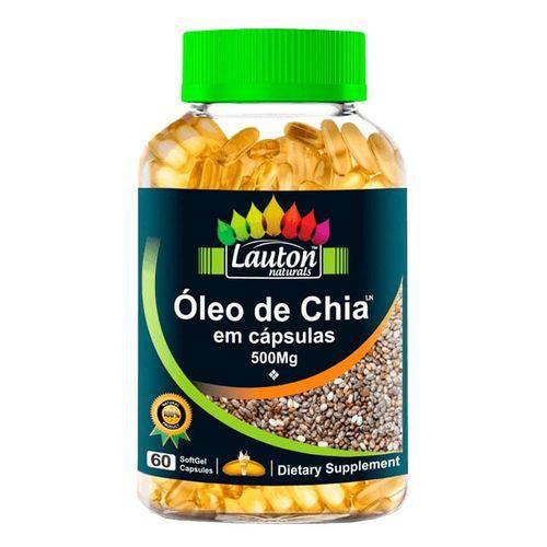 Tudo sobre 'Lauton Naturals Oleo de Chia 60 Caps'