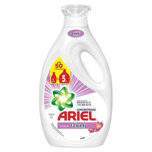 Tudo sobre 'Lava Roupas Concentrado Ariel com Toque de Downy 2l'
