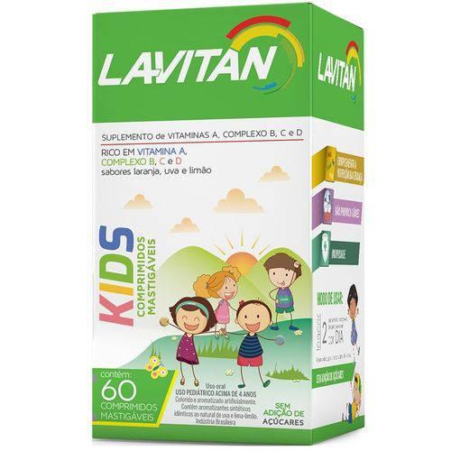 Tudo sobre 'Lavitan Kids 60 Cápsulas'