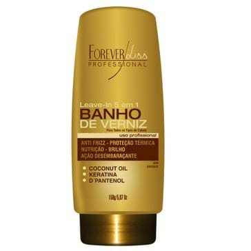 Forever Liss Banho de Verniz Leave-in 5 em 1 150 Gramas
