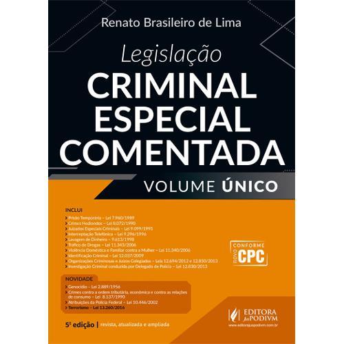 Legislação Criminal Especial Comentada (2017) - Volume Único