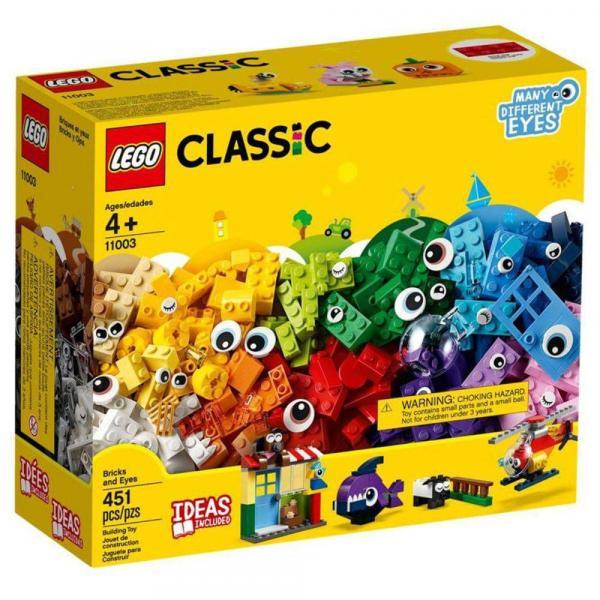 Lego 11003 Classic - Peças e Olhos