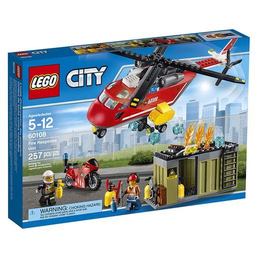Tudo sobre 'Lego City 60108 Corpo de Bombeiros - LEGO'