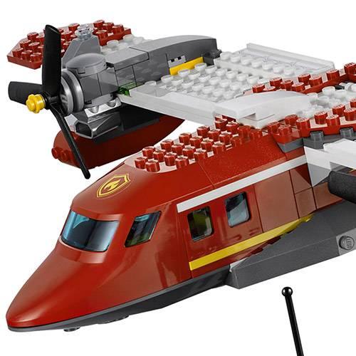 Tudo sobre 'LEGO City - Avião de Combate ao Fogo 4209'