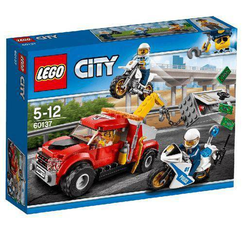 Tudo sobre 'Lego City - Caminhão Reboque em Dificuldades'