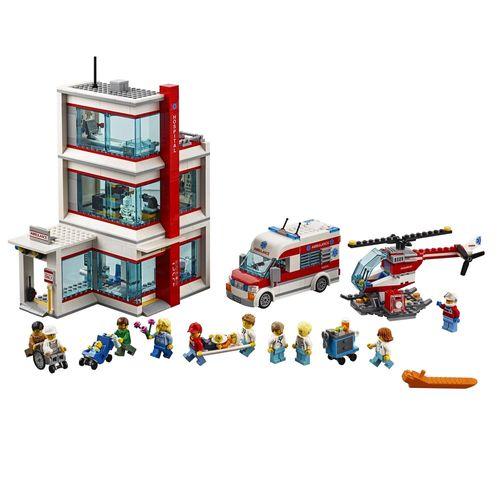 Tudo sobre 'LEGO City - Hospital da Cidade'