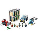 Tudo sobre 'Lego City - Invasão com Buldôzer'