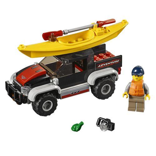 Tudo sobre 'LEGO City - Transportando o Caiaque'