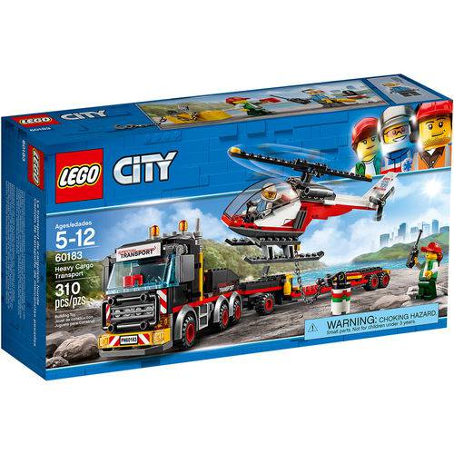 Tudo sobre 'LEGO City - Transporte de Carga Pesada'