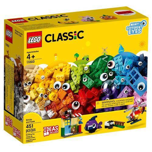 LEGO Classic 11003 - Peças e Olhos
