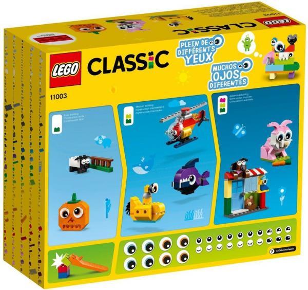LEGO Classic - 451 Peças e Olhos