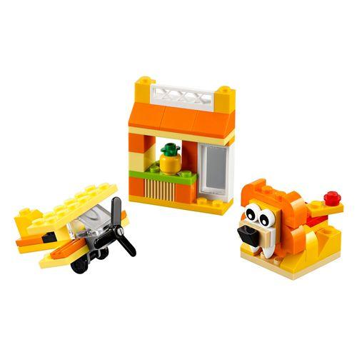 Tudo sobre 'LEGO Classic - Caixa de Criatividade Laranja'