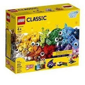 Tudo sobre 'LEGO Classic - Peças e Olhos'
