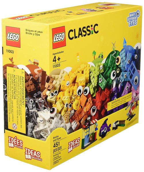 LEGO CLASSIC Peças e Olhos