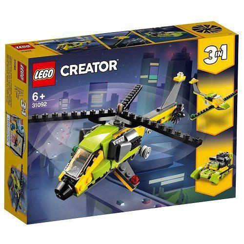 Tudo sobre 'Lego Creator Aventura de Helicoptero 31092'