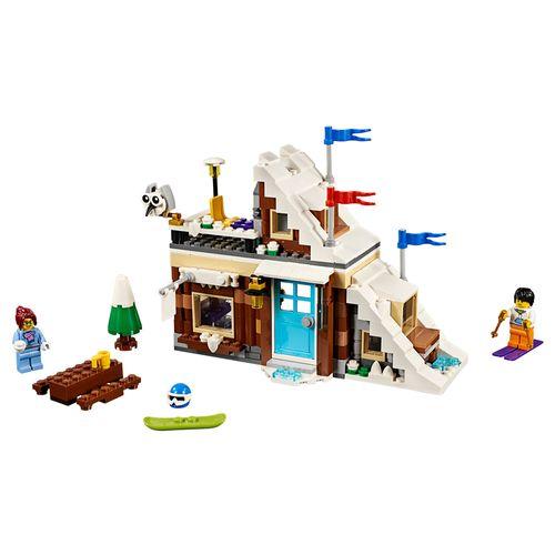 Tudo sobre 'LEGO Creator - Modelo 3 em 1: Férias de Inverno'
