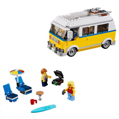 Tudo sobre 'Lego Creator - Modelo 3 em 1: Férias de Verão'