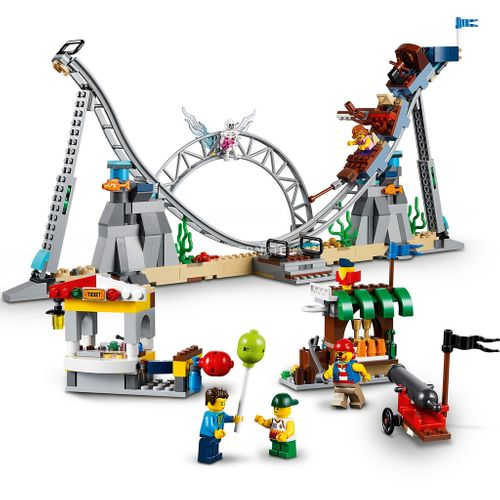 Tudo sobre 'LEGO Creator - Montanha-russa de Piratas'