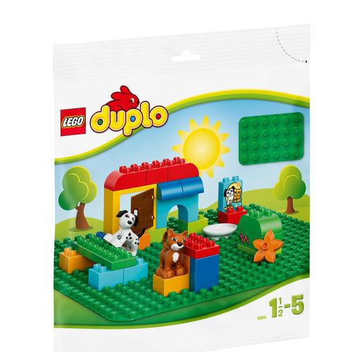 Tudo sobre 'LEGO DUPLO - Base de Construção Verde Grande'