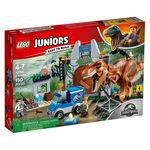 Tudo sobre 'LEGO Juniors - Jurassic World - Fuga T-Rex - 10758'