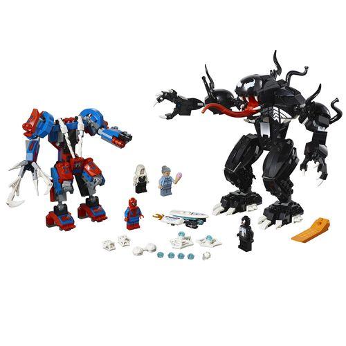 Tudo sobre 'LEGO Marvel Super Heroes - Robô-Aranha Vs Venom'