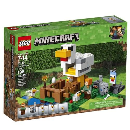 Tudo sobre 'LEGO Minecraft - o Galinheiro'