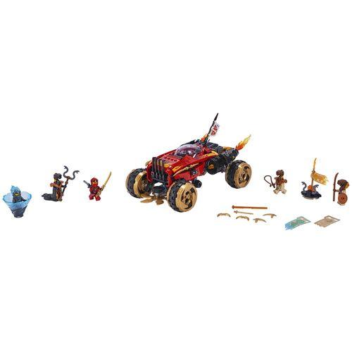 Tudo sobre 'LEGO Ninjago - Katana 4x4'