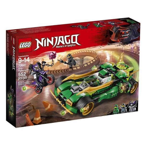 Tudo sobre 'Lego Ninjago - Ninja Noturno'