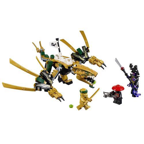Tudo sobre 'LEGO Ninjago - o Dragão Dourado'