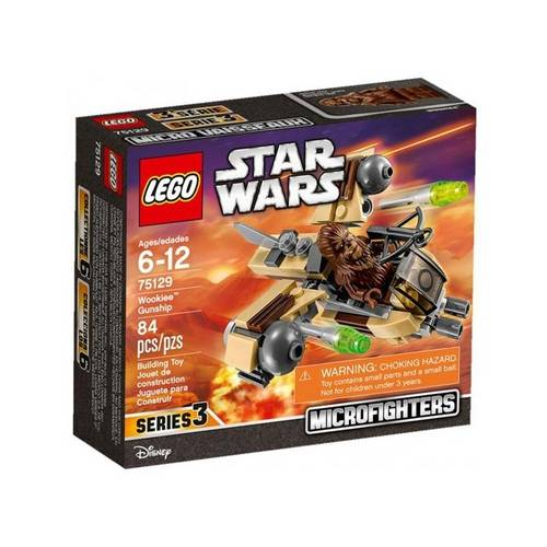 Tudo sobre 'Lego Star Wars - Wookiee Gunship 75129'