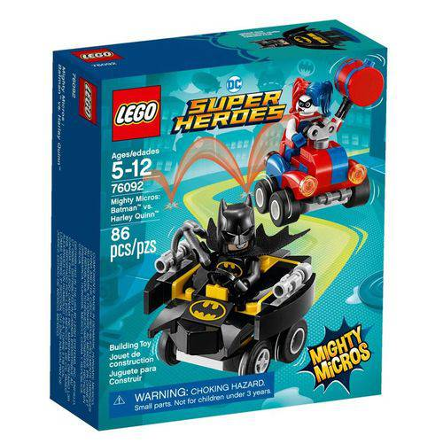 Tudo sobre 'LEGO Super Heroes - DC Comics - Batman Vs Arlequina - 76092'