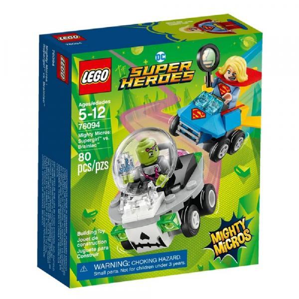 Tudo sobre 'LEGO Super Heroes - Mighty Micros: Supergirl Vs. Brainiac'