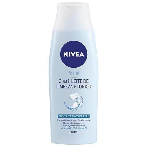 Tudo sobre 'Leite de Limpeza + Tonico Nivea'