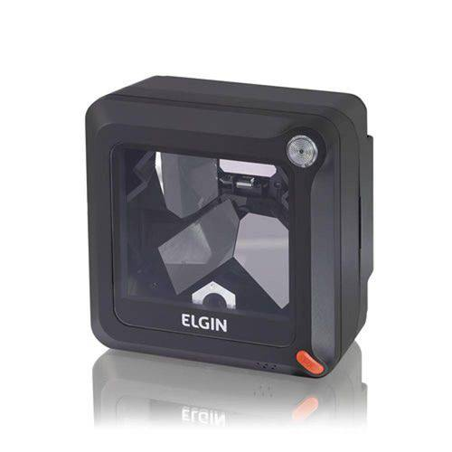 Leitor de Codigo de Barras LASER Elgin El-4200 USB Preto Fixo