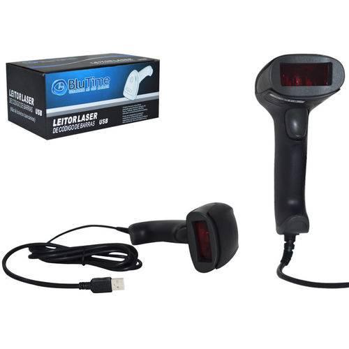Leitor LASER de Codigo de Barras USB Preto HL6-1