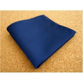 Lenço de Bolso Azul Marinho