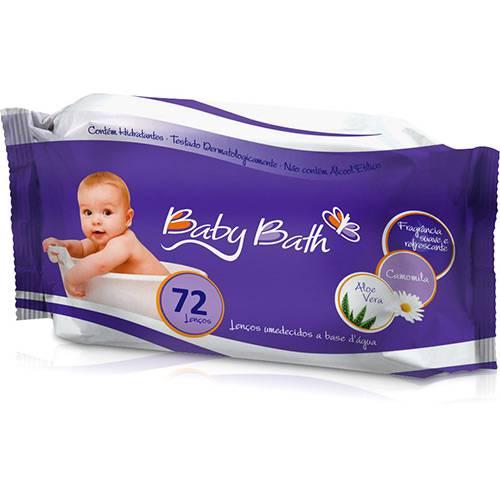 Tudo sobre 'Lenço Umedecido Baby Bath - 72 Unidades'