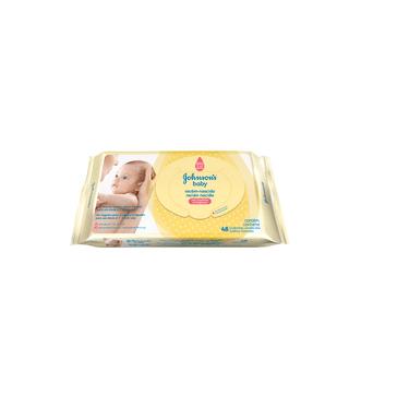 Tudo sobre 'Lenço Umedecido Johnson's Baby Recém-nascido 48 Unidades'