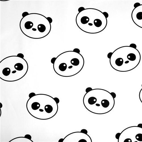 Lençol Elástico Panda (Solteiro)