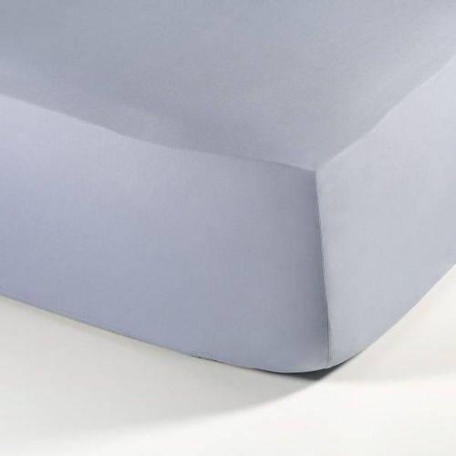 Lençol Super King Percal Confort Basic com Elástico - 1,93mx2,03m - Azul - Buddemeyer